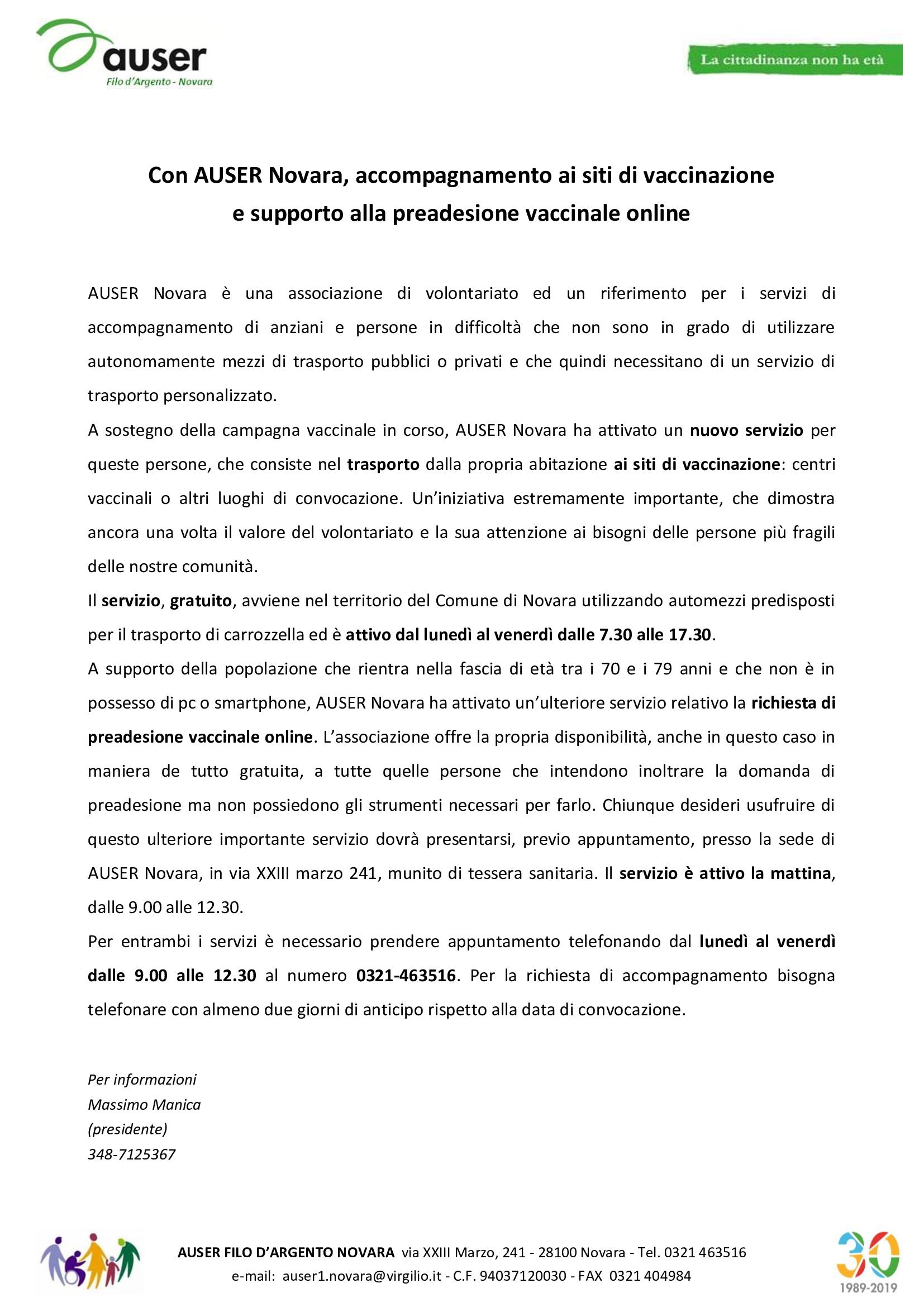 Comunicato-AUSER-Novara